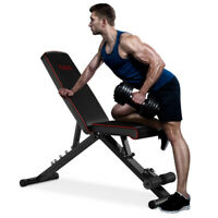 Adjustable Weight Bench Flat Incline Press Home Gym Workout Exercise 440 LBS