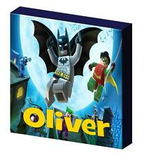 PERSONALISED LEGO BATMAN CANVAS PICTURE