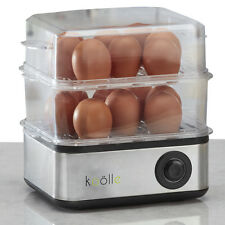 Koolle Electric 16 Egg Boiler Steamer Poacher Cooker Breakfast Omelette Maker
