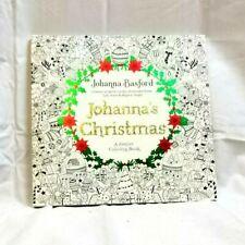 Johanna's Christmas: A Festive Coloring Book for Adults by Johanna Basford