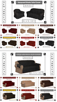Jacquard Sofa Cover & Slip Cover for 1, 2 & 3 Seater  / Alternate to Sofa Throw