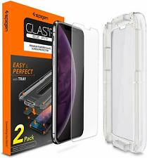 Spigen Glass tR EZ Fit Screen Protector Iphone XS Max.