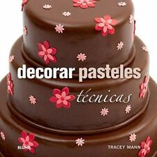Decorar pasteles: Técnicas (Spanish Edition)-ExLibrary