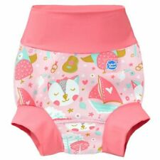 Splash About Baby Kids Improved Happy Nappy Pink Blossom 0-3 Months