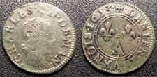 Charles II de Gonzague - Charleville - denier tournois 1653 type 3 a1 - CGKL#638