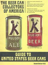 Beer Can Collectors Of America Guide Book ~ 1976 ~ Rare, Clean, Tight ~ Look!
