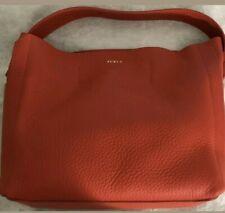 New Women's Furla 992760 B BHE6 QUB Capriccio Grainy Leather Hobo Shoulder Bag: