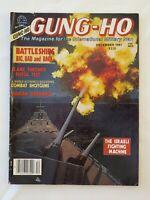 GUNG-HO Magazine DECEMBER 1981; Battleships, Shotguns; Flame Thrower Pistol Test