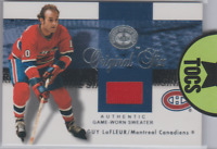 "Guy Lafleur 2001 Fleer SkyBox ""Authentic Game Worn Sweater"" Jersey Card Montreal"