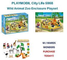 Playmobil City Life 5968-Wild Animal Zoo Recinto Playset