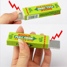 Funny Electric Shocking Chewing Gum Toy Gifts Shock Joke Gadget Prank Trick Gag