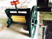 BIG VTG Brass Sugar Cane Dry Squid Mill Juicer Cast Iron Hand Press FAST SHIP