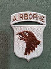 US Army Patch 101st Airborne Desert 01