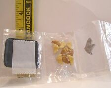 MINIATURE RETIRED RARE RE-MENT FASHION DOLL FOOD CRESCENT ROLLS FOOD SET VHTF