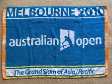 Authentic Australian Open Gym Towel Melbourne 2010 Brand New In Case 100% Cotton