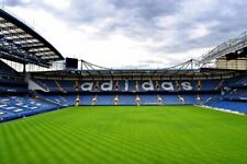 More details for stamford bridge chelsea fc matthew harding north stand photograph picture