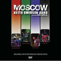 "KEITH EMERSON ""MOSCOW"" DVD NEW+"