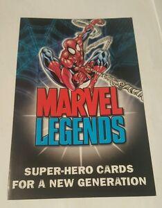 marvel legends promo flyer 2001