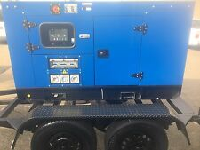GGBQ 16 KW/20 KVA SILENT THREE PHASE DIESEL GENERATOR TRAILER MOUNTED