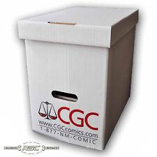 E. Gerber Official CGC Graded Magazine Comic Book Storage Box - Case of 5 Boxes
