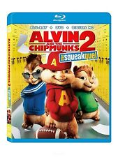 Alvin and the Chipmunks: The Squeakquel (Blu-Ray, DVD) NEW