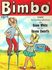 BIMBO - 5th JULY 1969 (30 June - 6 July) - YOUR WEEK OF BIRTH ?? VG+ beano dandy