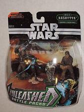 Star Wars Unleashed ROTS Battle KASHYYK YODA AAYLA SECURA WOOKIE Figure Pack