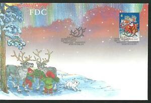 FINLAND - SANTA CLAUS Christmas FDC 2001