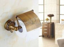 Antique Brass Wall Mounted Bathroom Toilet Tissue Paper Roll Holder
