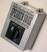 Carl's Custom Guitars Speaker Soak Power Tube Amp/Amplifier Attenuator/Brake/Pad