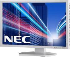 Nec MultiSync E223w 22 inch Widescreen LED Monitor - White 16 10 1680x10 #9551