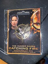 The Hunger Games Catching Fire Mockingjay Pin Prop Replica Jewelry Katniss New