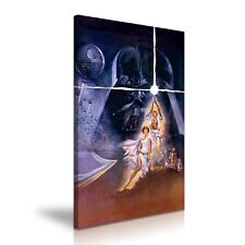 Star Wars A New Hope Movie Modern Canvas Print Wall Art ~ 5 Sizes