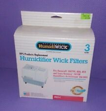 3 Pk Duracraft Sears RPS HumidiWick Replacement Humidifier Wick Filter DU3-C