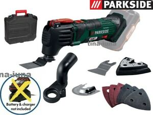 Parkside 20V Cordless Oscillating Multi Tool With Out Battery And Charger