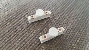 2 x Ikea Kvartal Rollenhalter für Laufleiste Ersatzteile  halter grau