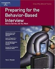 Crisp: Preparing for the Behavior-Based Interview: How to Get the Job -ExLibrary