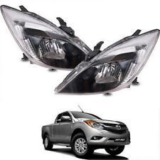 Fit 2012-2016 Mazda BT50 BT-50 Pro Ute Pickup Facelift Head Lamp Lights Pair