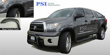 BLACK TEXTURED Pocket Rivet Fender Flares 2007-2013 Toyota Tundra ; FRONT SHORT