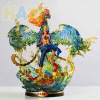 Anime One Piece Phoenix Marco Painted Super 40cm Action Figure Model Toy