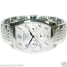 Longines Evidenza L2.643.4 Automatic Chronograph Men's Stainless Steel Watch Pre