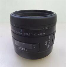Minolta AF 50 Macro Lens 50mm 1:3.5(32)