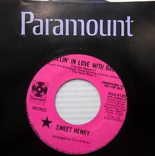 SWEET HENRY Fallin in love with baby Love is two SUNSHINE POP 45 2 sided e5910