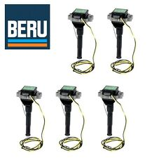 Audi S4 1992-1994 S6 1995-1997 Set of 5 Direct Ignition Coils Beru 034 905 101