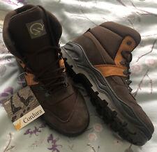 New listing HAWKSHEAD Cordura  Brown/Tan Leather Walking/Hiking High Top Boots Size 9 BNWT