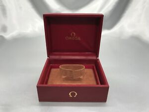 Genuine OMEGA vintage empty used watch box Red authentic 1109005 P28