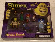 Shrek & Friends Mini Figures McFarlane Toys 2001 Boxed NEW
