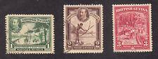 British Guiana - 1934 - SC 210-12 - Used