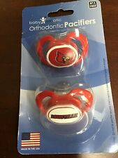 Louisville Cardinals Ncaa Orthodontic Pacifiers Baby Fanatic Ages 3 Months & Up