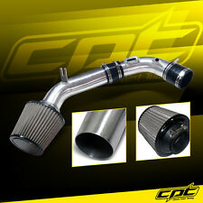 10-12 Ford Fusion 2.5L 4cyl Polish Cold Air Intake + Stainless Steel Air Filter